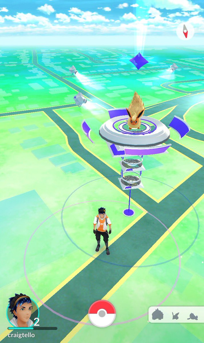 So, turns out @WWE HQ is the site of a #PokemonGO gym. Outstanding. https://t.co/TeKe9VXttH