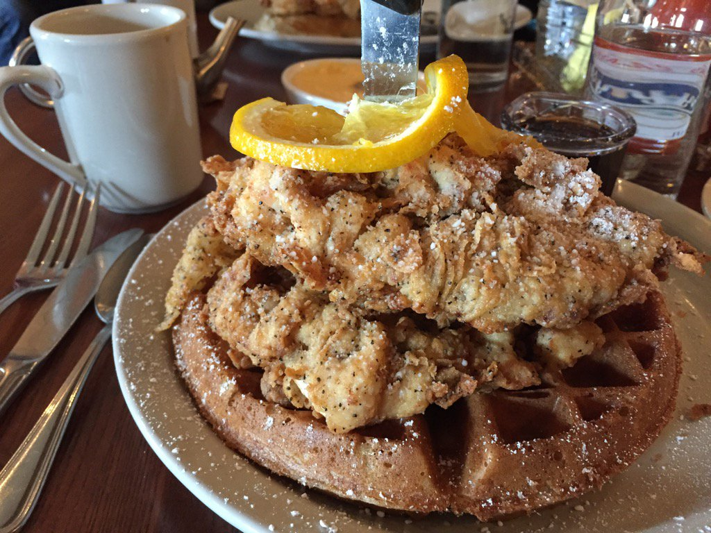 Liza Javier On Twitter Omg Hella Chicken And Waffles At Screen