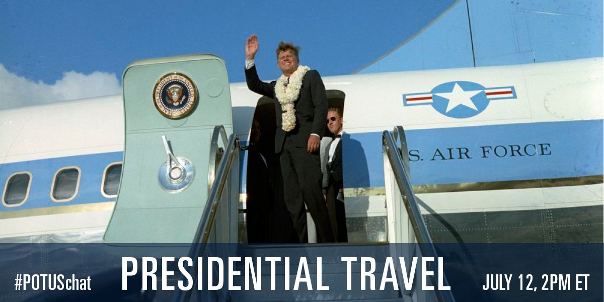 Thumbnail for #POTUSchat: Presidential Travel