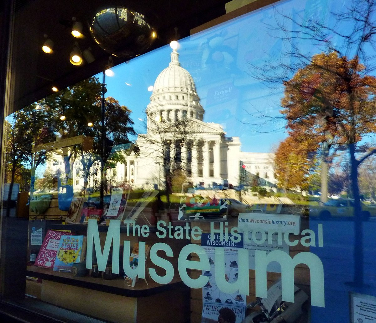 Reflecting Madisons Changing Capitol >> Travelwisconsin On Twitter Snoop In Wisconsin S Attic Wi Hist