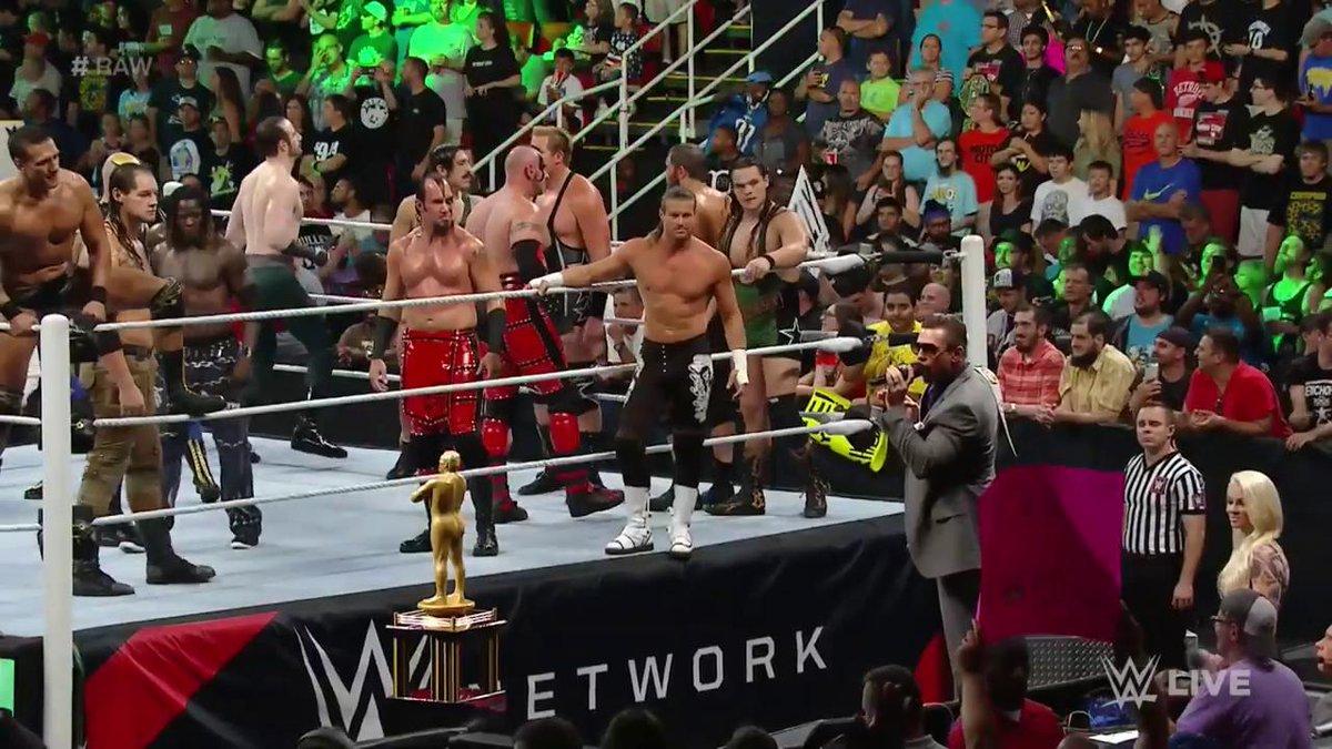 Resultats WWE RAW 11 juillet 2016