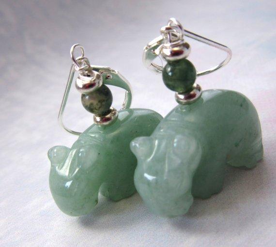 hippopotamus jewelry - hippopotomi jewelry-  green adventurine carved stone... #etsyhandmade https://t.co/D4NkkKtQZ1 https://t.co/E8ar5zEtfX
