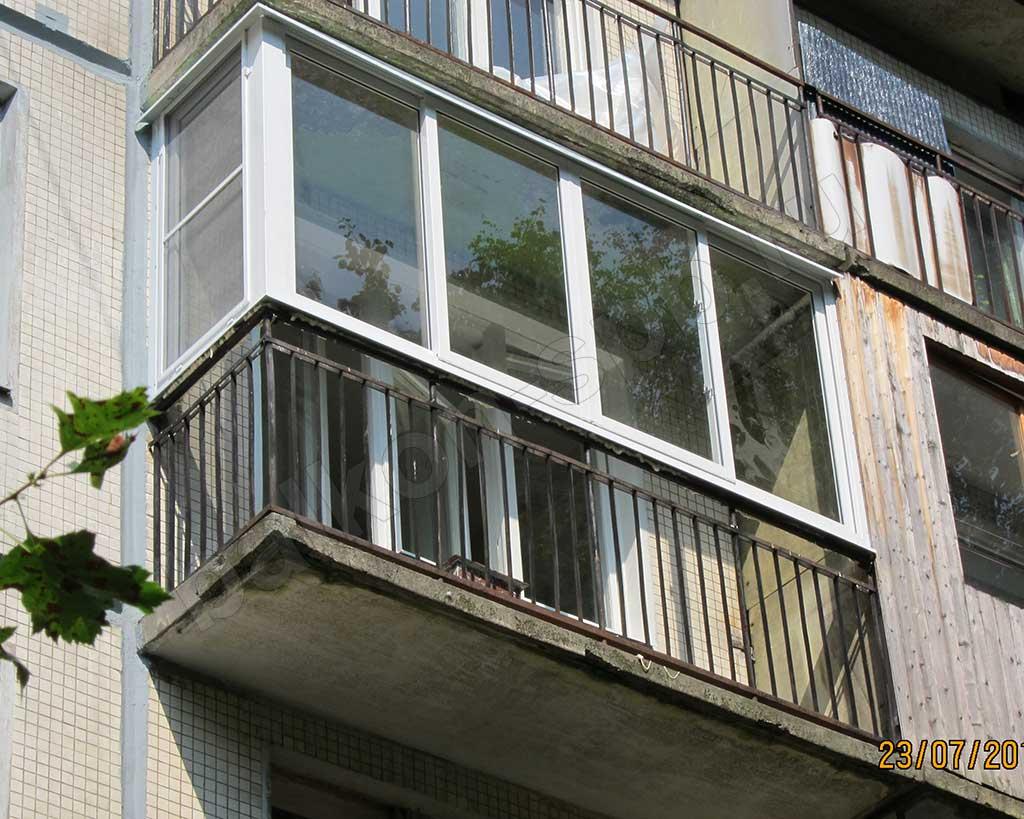 Безопасное остекление балконов и лоджий, допустимая нагрузка.