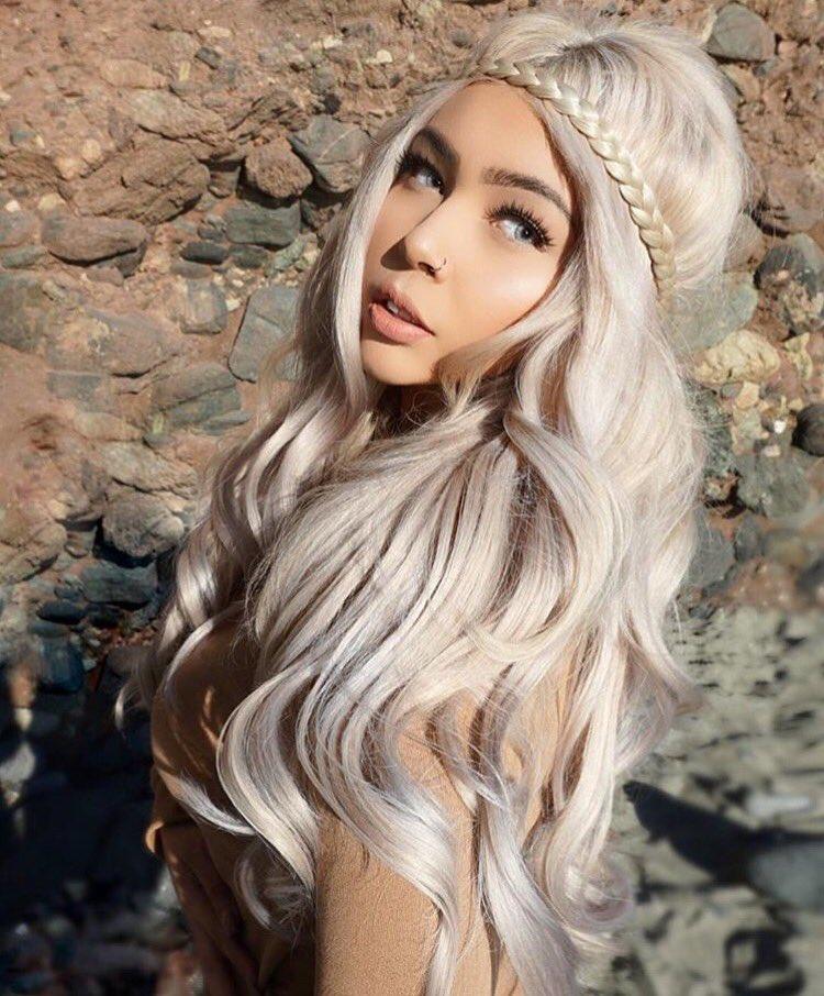 Bellami Ash Blonde Hairstyle Inspirations 2018