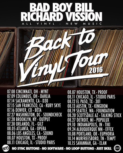 Retweet to WIN TICKETS in a city of your choice!  We added more dates to the #BackToVinylTour @djbadboybill https://t.co/iYDThgauXy