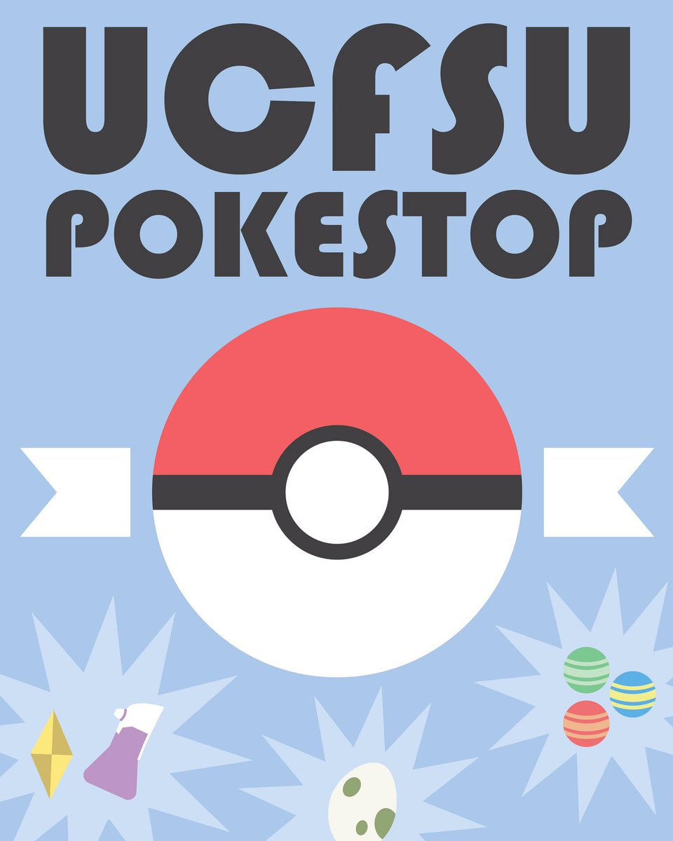 The heart of campus will like to wish our fellow  Pokemon trainers the best of luck on your adventures https://t.co/1hQ07JJrrZ