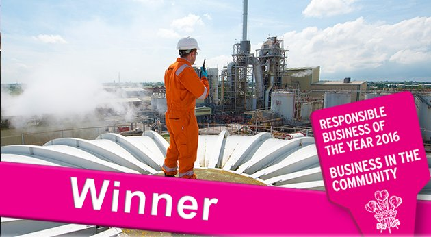 We are delighted to reveal, the BITC Responsible Business of the Year 2016 is @veolia! @VeoliaUK #BITCawards
