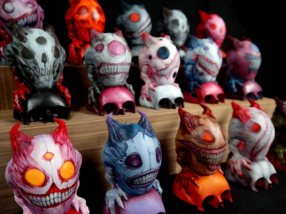NEW POST: Monsters and Skulls... yes please!!! Dave Correia to debut his new resin art… https://t.co/PPqosBQ84S https://t.co/3rSpEpSNlf