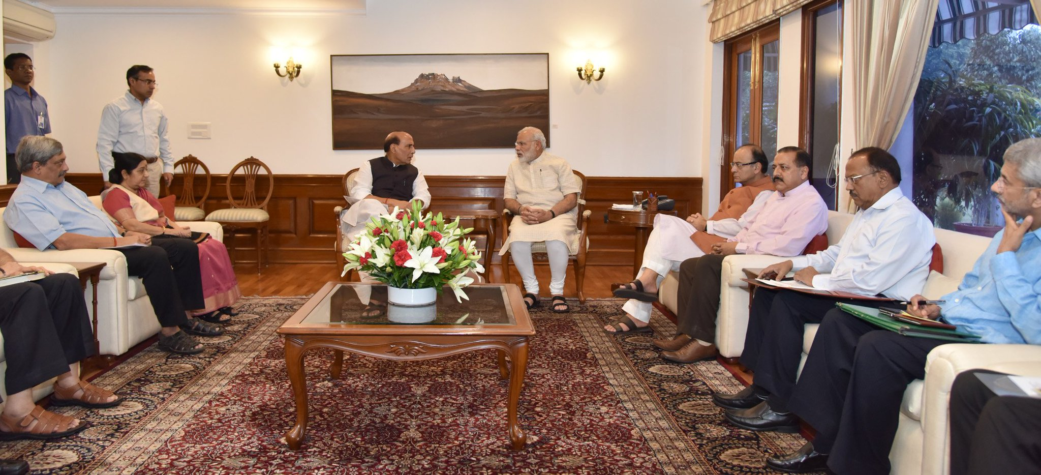 PM Narendra Modi chairs high-level meeting on Kashmir