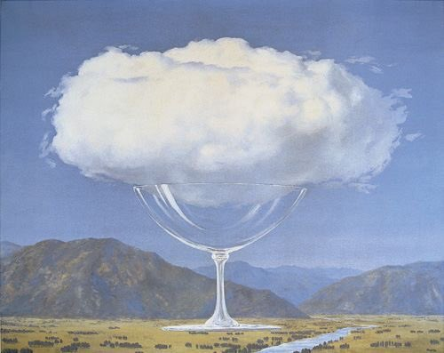 Nuvole…uniche cose oggi reali fra la nulla terra e il cielo inesistente... Pessoa #DonneInArte #TraLeNuvole Magritte https://t.co/nYDO2TFnZI