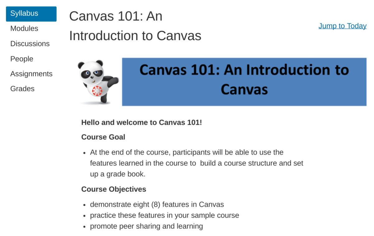 Excited for Canvas 101 course tomorrow...nice chance to meet and share with other faculty! #OU2Canvas thanks #OU_CTE https://t.co/3RaVegDsWL