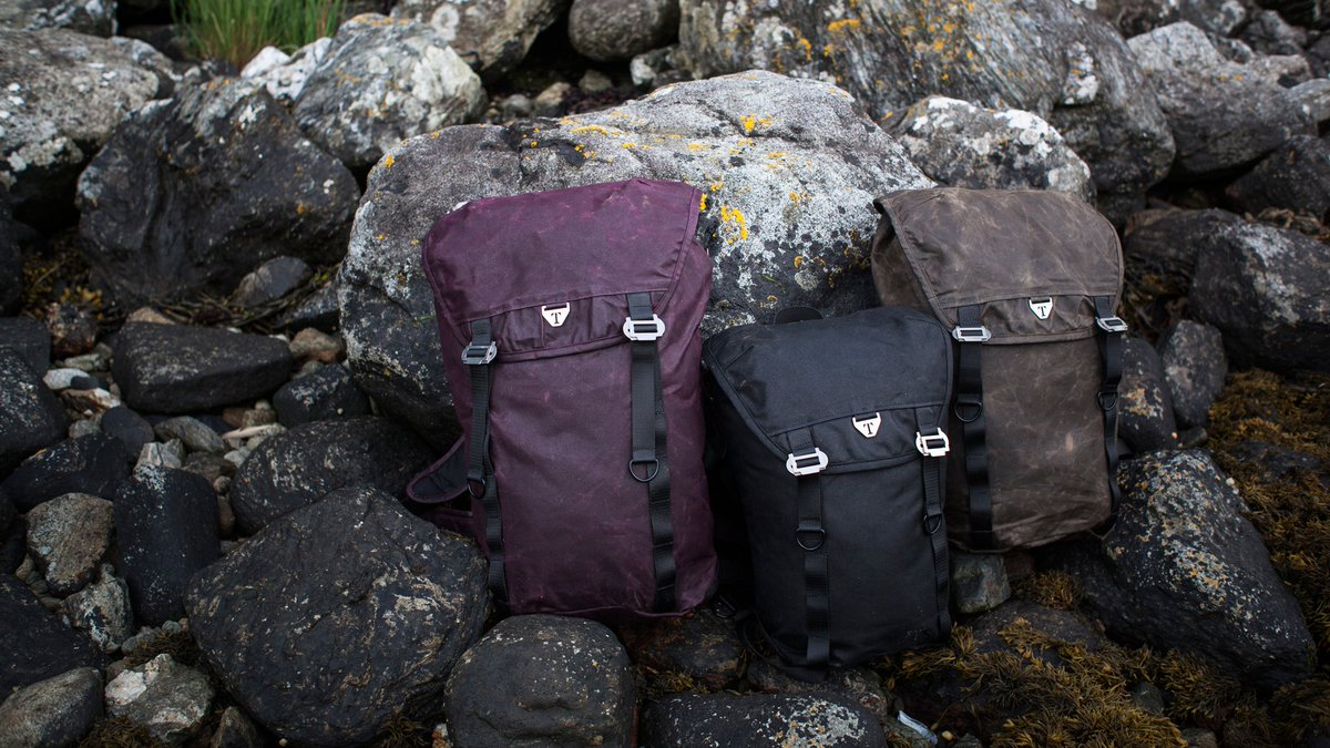 0acf0ea63 Waxed Canvas Backpacks, Messenger Bags & Accessories for Travel and  Adventure. Handmade in Scotland and Built to Last. Worldwide Shipping.