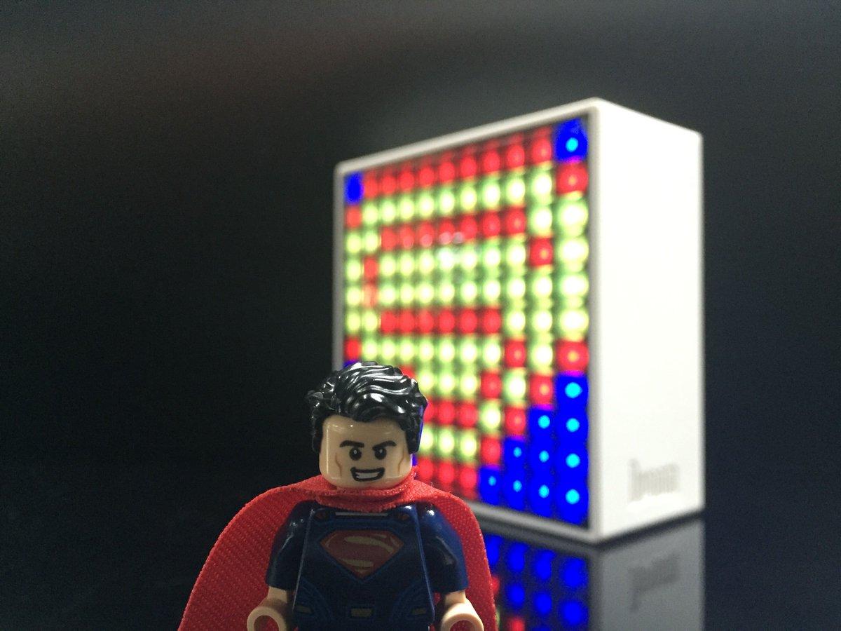 Divoom On Twitter Timeboxpixel Artlego Go Superman