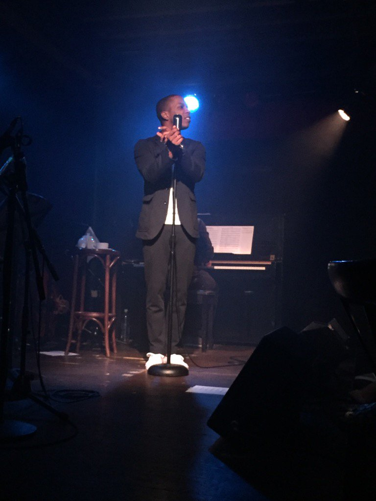 Album release show by @leslieodomjr was soooo good. If you can catch his residency this month at McKittrick, do so! https://t.co/QtLqd26d5e