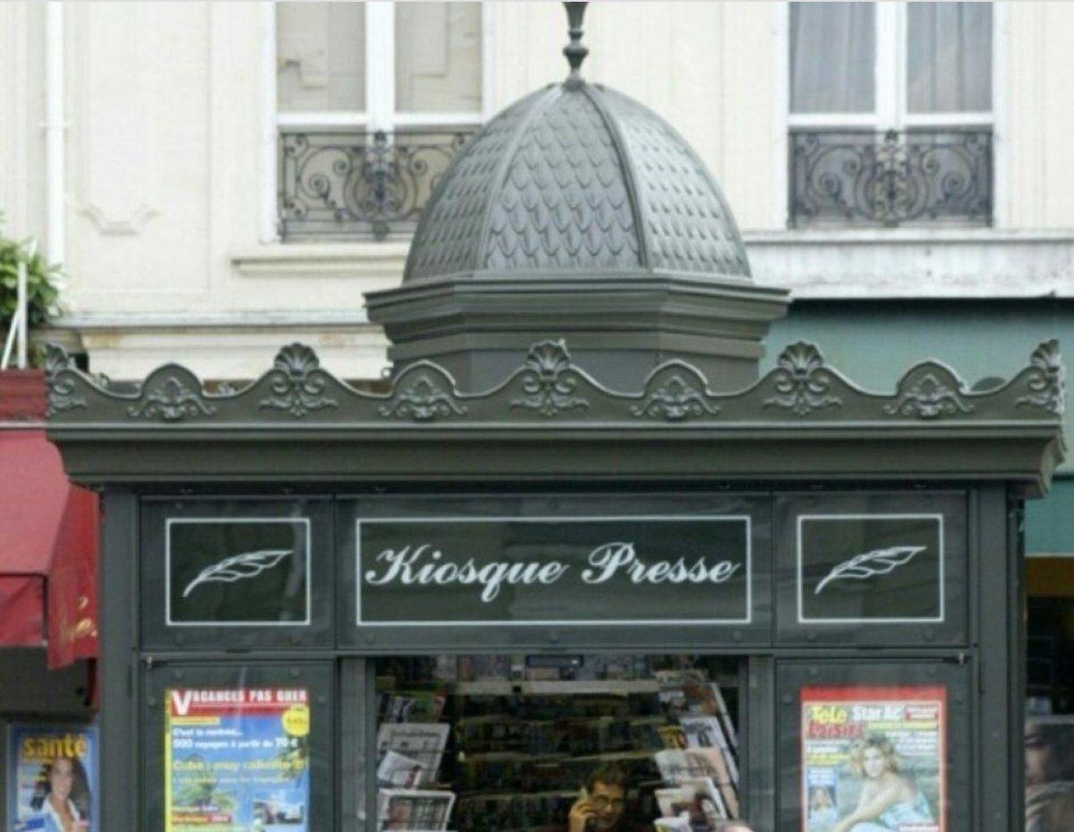 """Alain Houpert on Twitter: """"Après les #abribus de #NormannFoster on a les abribus """"courant d'air"""", c'est le tour des #kiosques de #Davioud !!! ..."""
