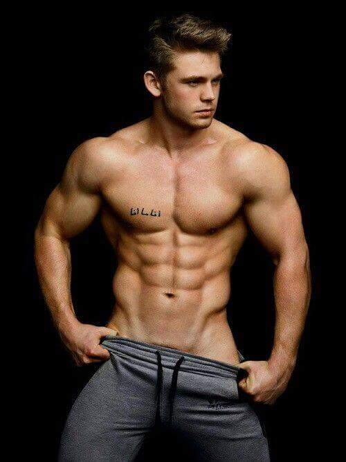 Hunk gay photo
