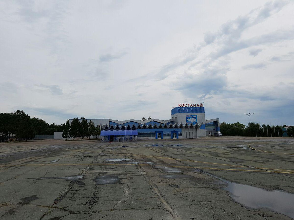 I got acquainted with the work of #Kostanay Airport. It requires a reconstruction. https://t.co/qlLGlXcRqo