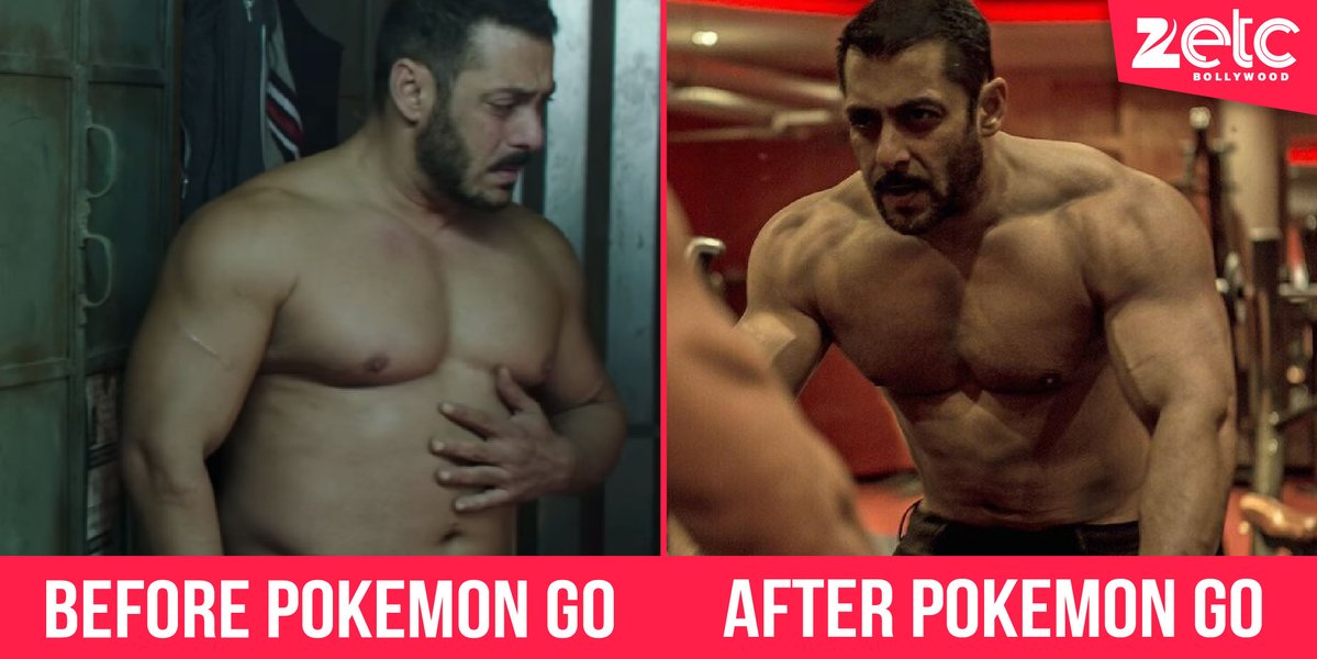No gym, no diet, no tele-brands, sirf #PokemonGo se hoga asli workout! RT if you're a fan! https://t.co/JzEf191PID