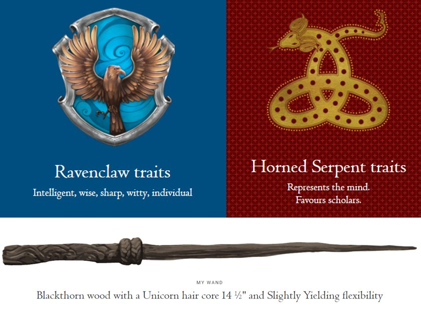 lucy m c white on twitter my hogwarts house is ravenclaw and ilvermorny house is. Black Bedroom Furniture Sets. Home Design Ideas