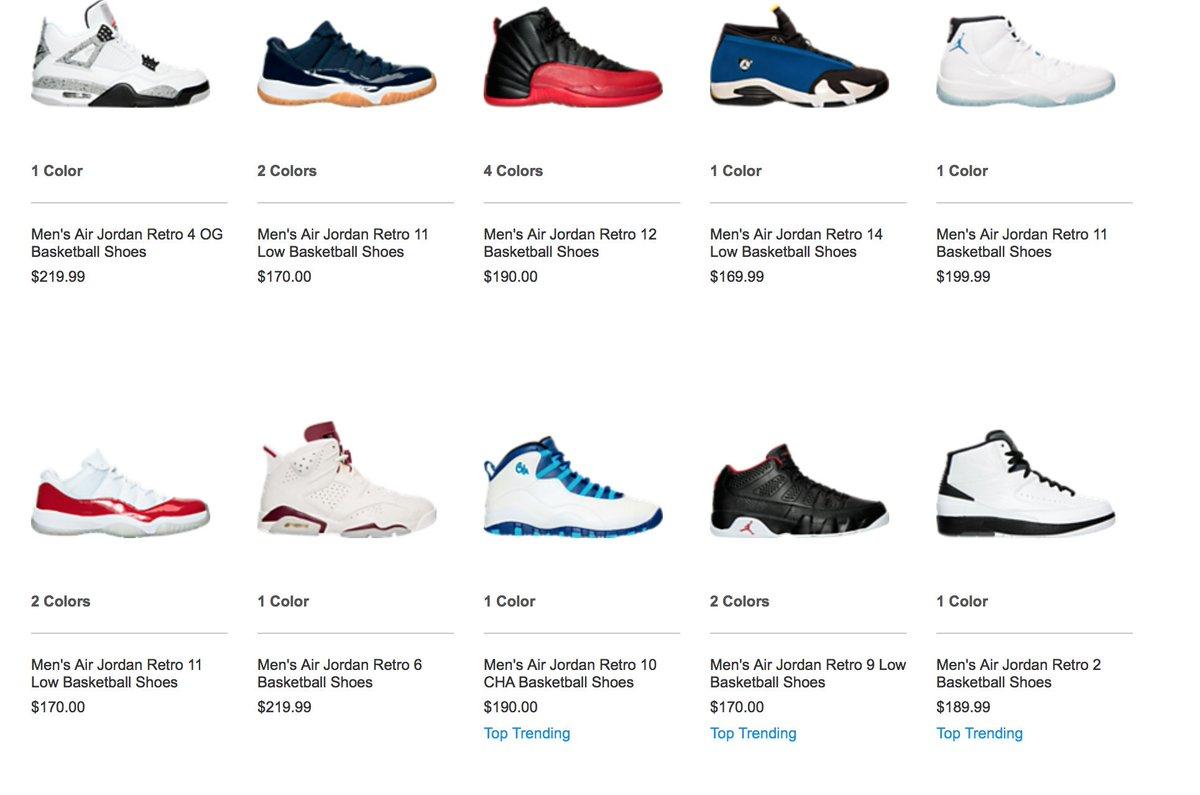 Air Jordan Retro Styles that restocked