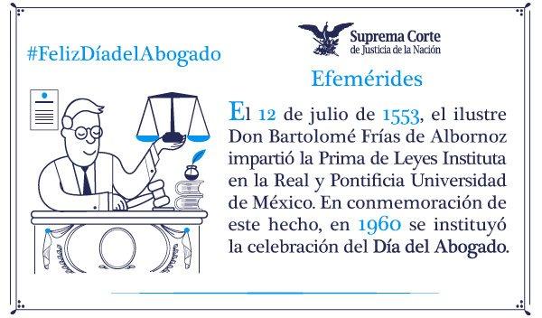 Hoy es #DíadelAbogado. https://t.co/VCXyyX23He