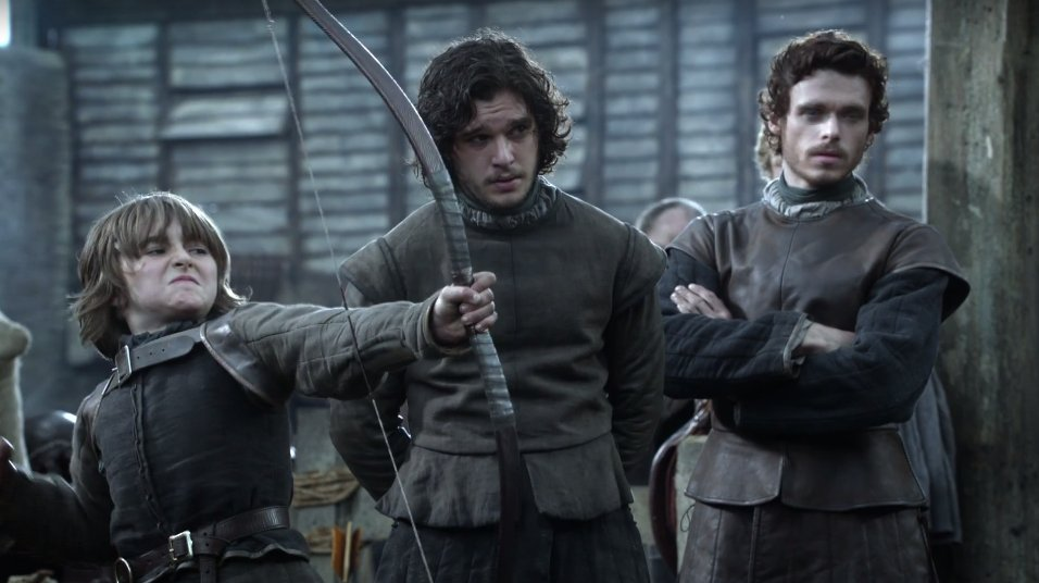 BABY STARKS! Bran, Jon, and Robb. They're so young. https://t.co/1DxfKgRdQj