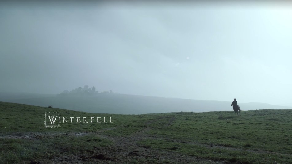 Oh god, it's Winterfell. I forgot how green it looked at the start of the show. *holds back tears* https://t.co/xALuaWdbxX