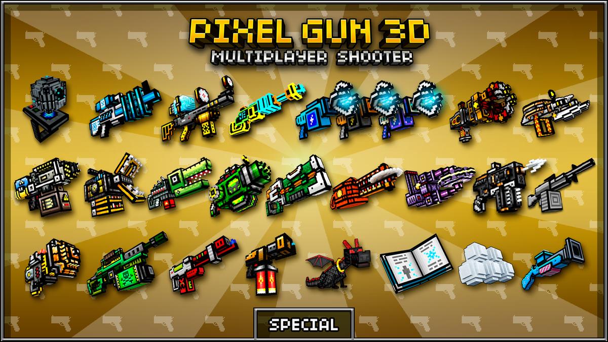 how to draw pixel gun 3d