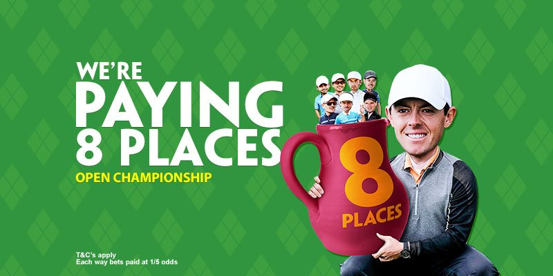 Paddy Power Golf Offer