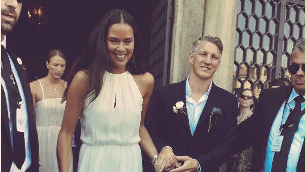 Schweinsteiger e Ivanovic matrimonio: nozze da sogno a Venezia