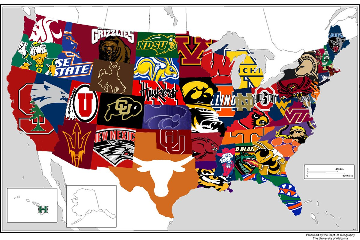 The most popular college football team in every state, according to @RedditCFB https://t.co/MUACrnG3EQ https://t.co/Cg9RvvQGTR