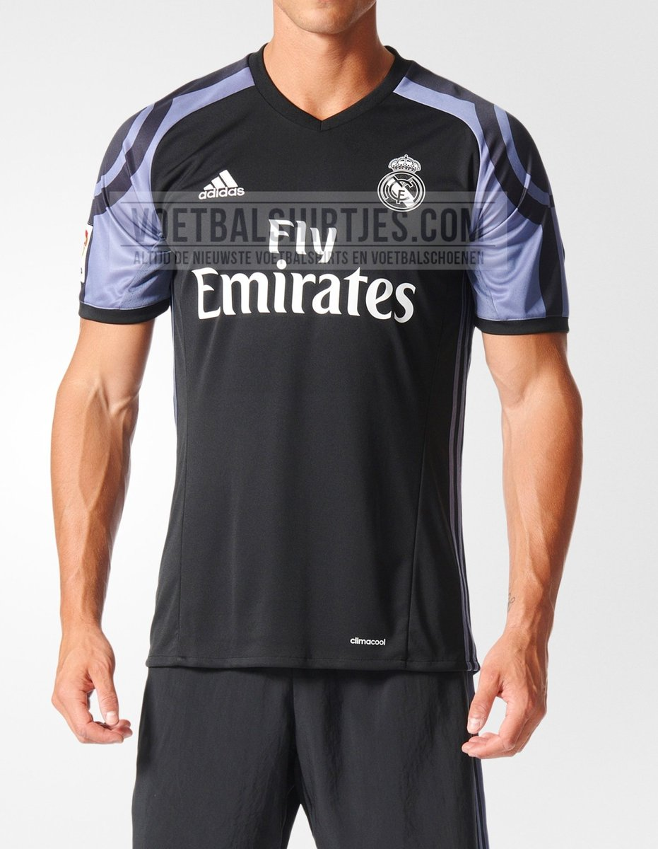 Real Madrid Info Twitter Pic 3rd Kit 16 17 Road