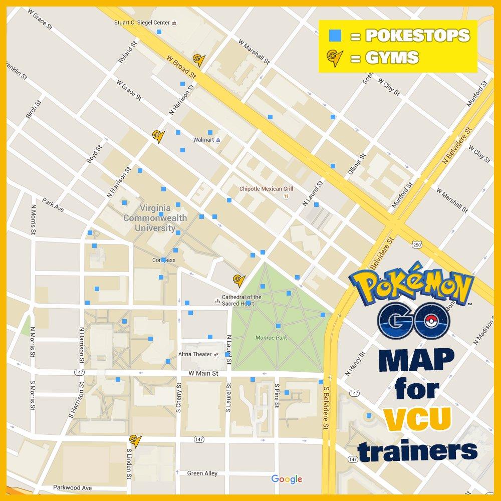 Vcu Campus Map VCU on Twitter: