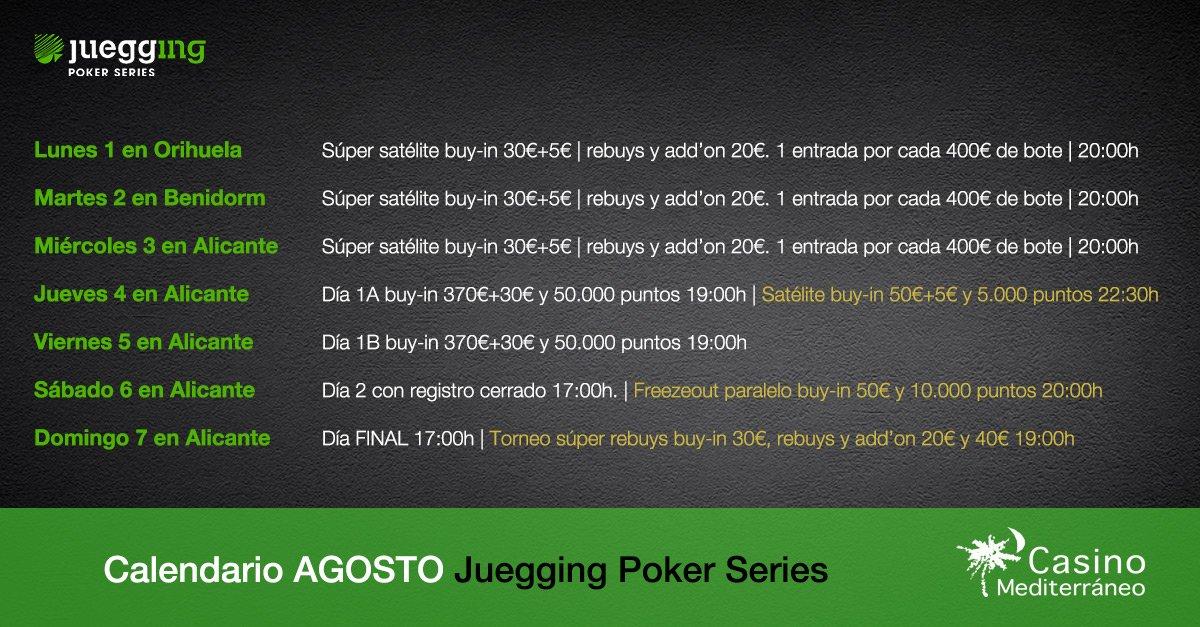 Calendario de poker casino mediterraneo mardi gras hotel casino review