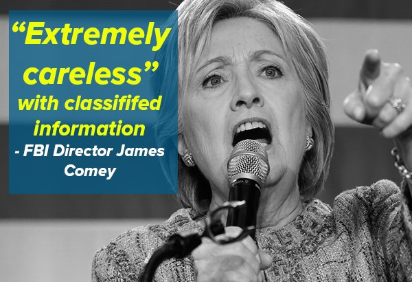 Sign if you believe Hillary Clinton's security clearance should be revoked. ow.ly/q1A1302b8Wl