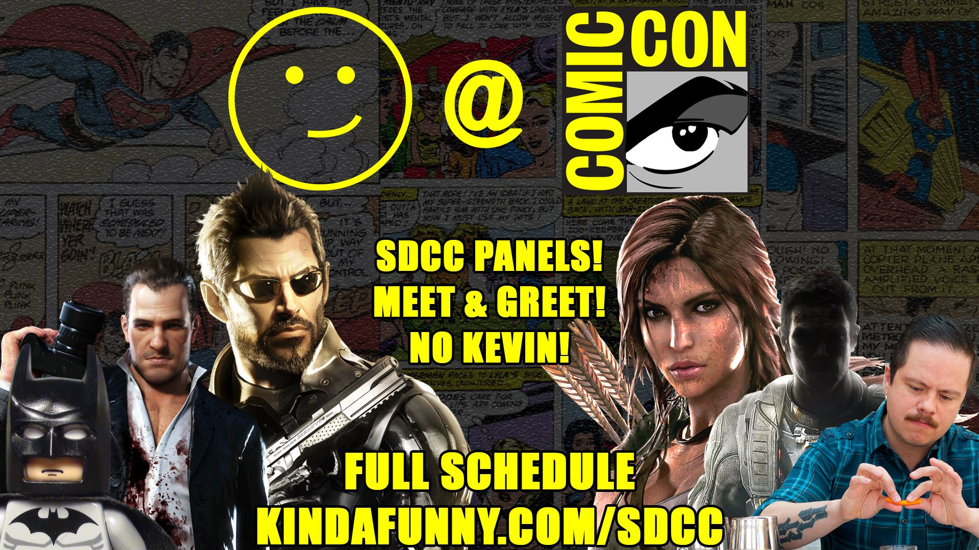 Kinda Funny At Sdcc 2016 Kinda Funny Forums