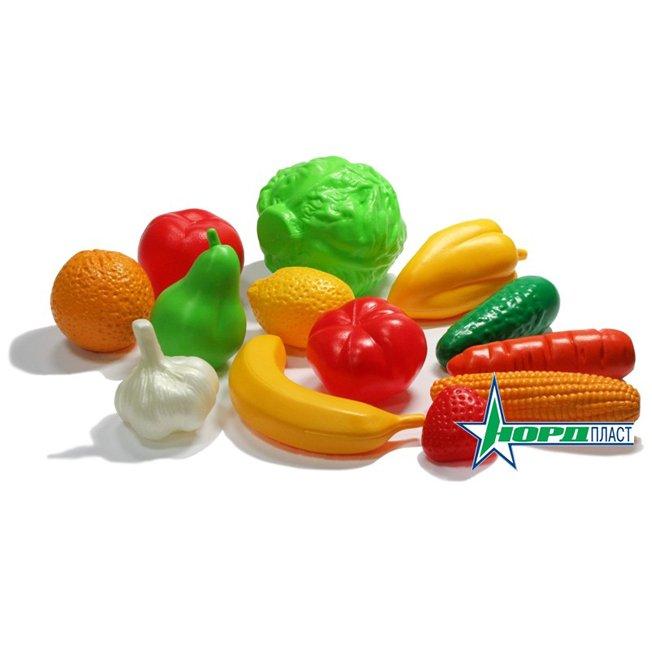 набор овощей и фруктов играем вместе маша и медведь играем вместе