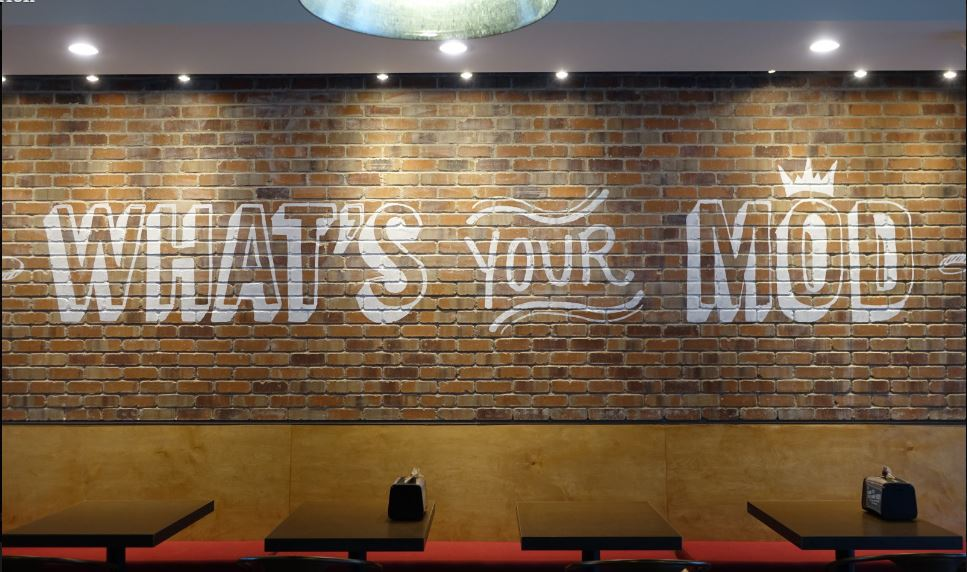 Mutual Materials On Twitter Mod Pizza Chooses Clic Used Slimbrick Tile Restaurant Interior Design Https T Co Ayerrycufh