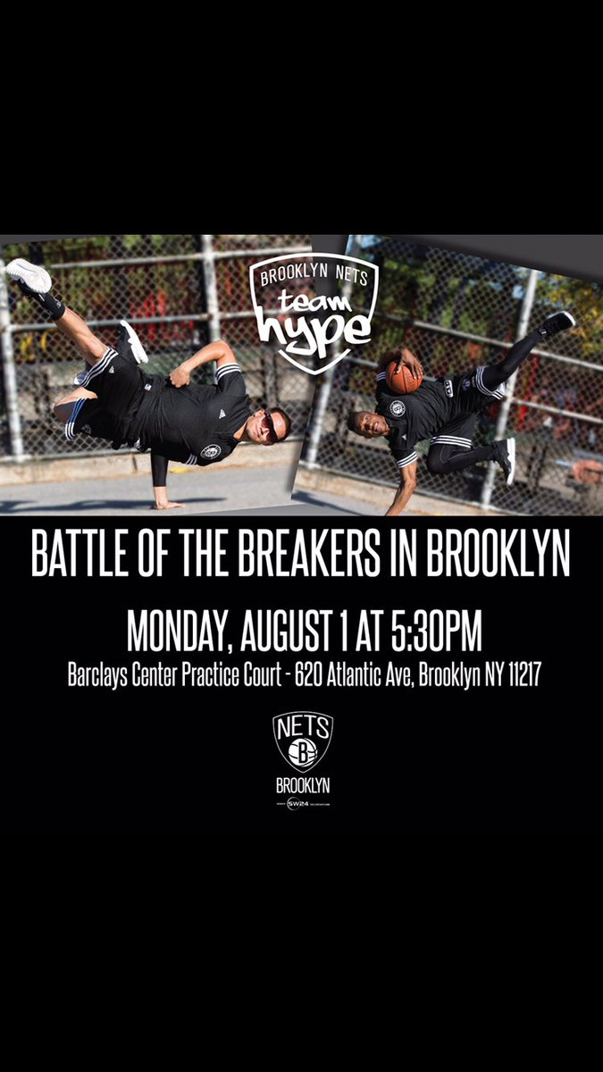 Call all Break-Dancers, show us your skills MONDAY, AUGUST 1 AT 5:30pm, sign up now at https://t.co/C68pPkXOMe https://t.co/lGgiaqa78U