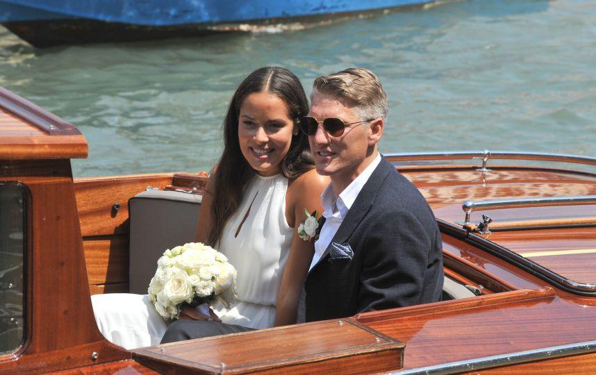 Ana Ivanovic e Bastian Schweinsteiger oggi sposi a Venezia