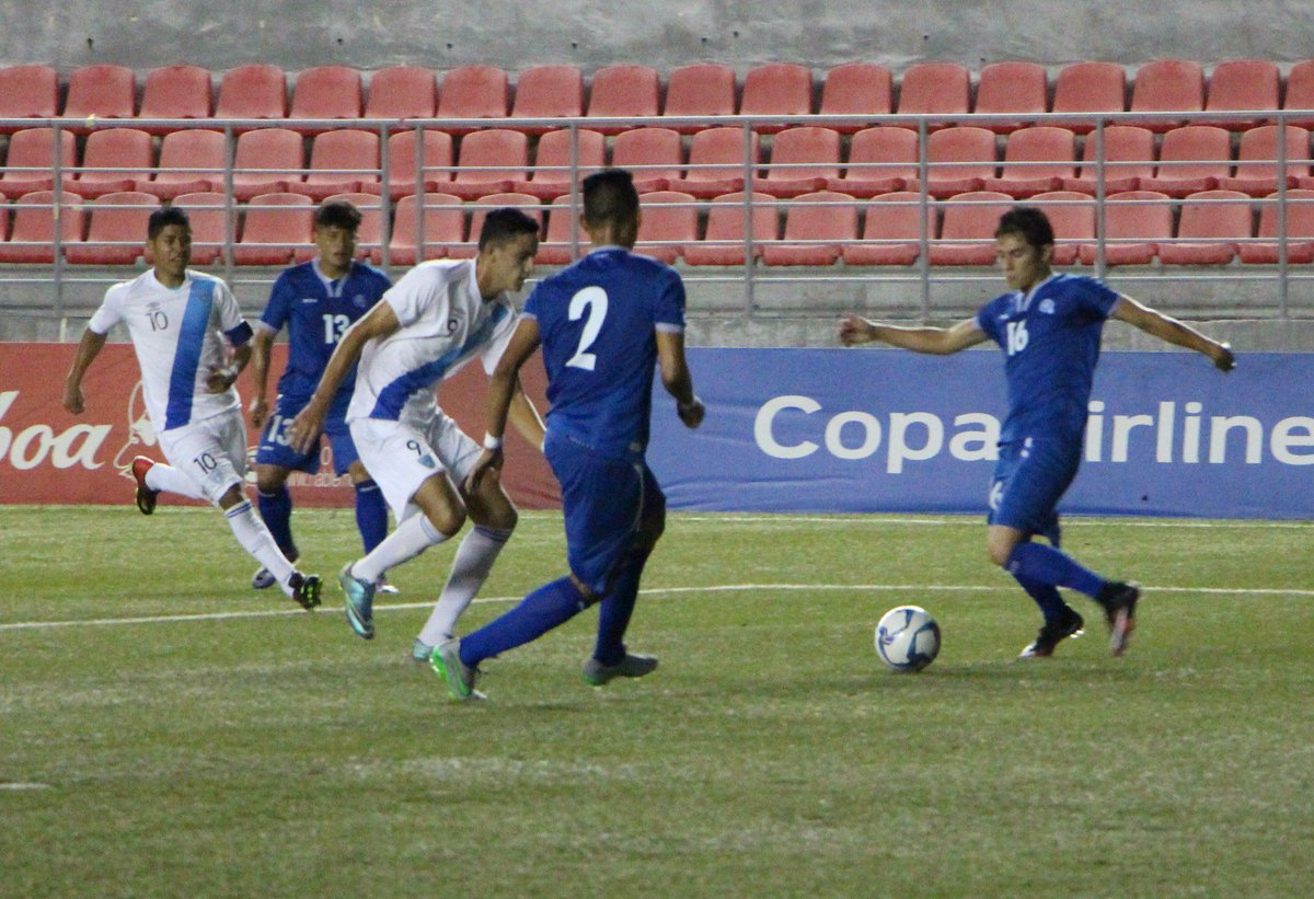 Eliminatorias UNCAF 2016: El Salvador 2 Guatemala 2. CnNdWyuXgAU2H88