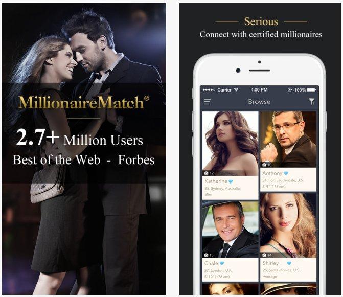 millionaire dating site sydney