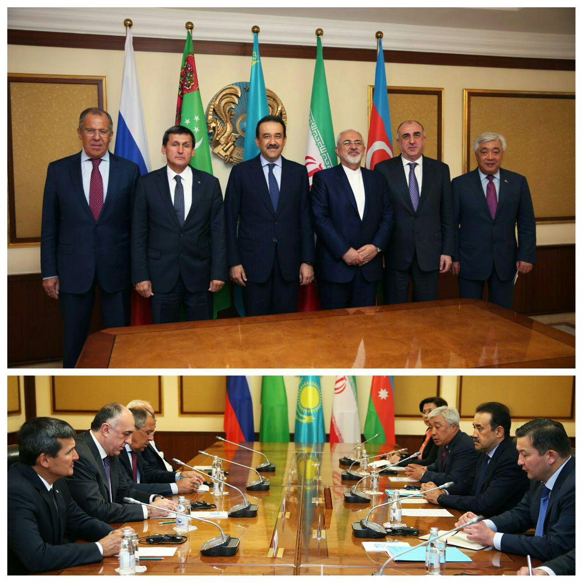 The Caspian Sea should and will remain a sea of peace, cooperation and friendship for all littoral states. https://t.co/cO2CO9DFRP