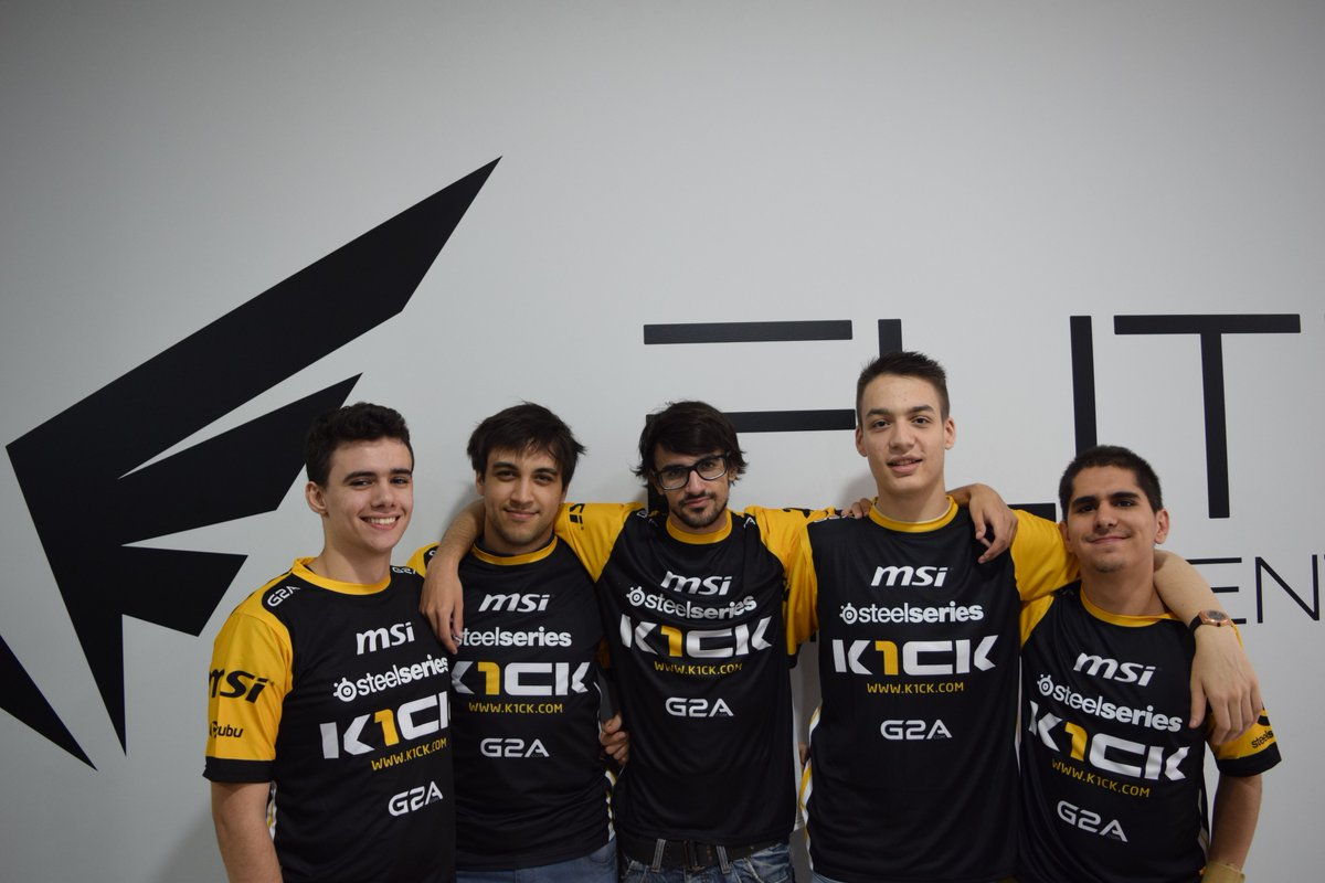 K1ck LoL Dreamhack Valencia Elite GAming Center