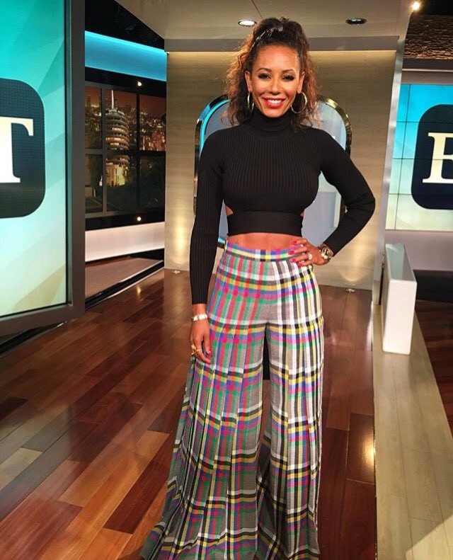 Beautiful @OfficialMelB wearing #marcodevincenzo pants https://t.co/8tshAUDdmV