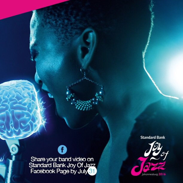 [COMPETITION] Bands! Submit ur videos 2 the Standard Bank Joy Of Jazz Facebook Page @CityOfJoburgZa @ArtsCultureSA https://t.co/RWVOYjMkAY