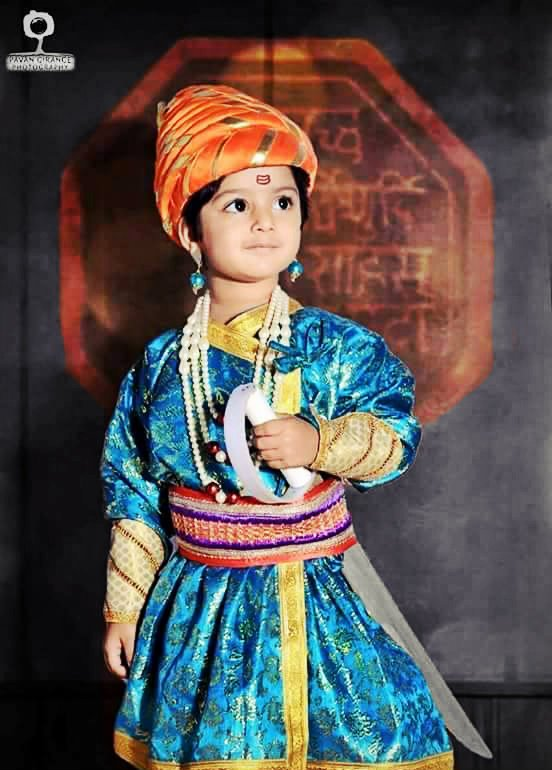 shivaji maharaj childhood photo