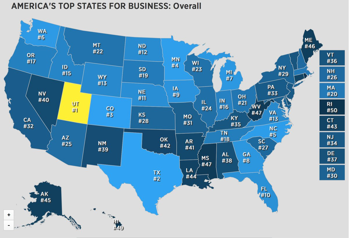 Rhode Island ranked last for business - again @cnbc https://t.co/KMVswqsaTy https://t.co/Bj6o8XTPLw