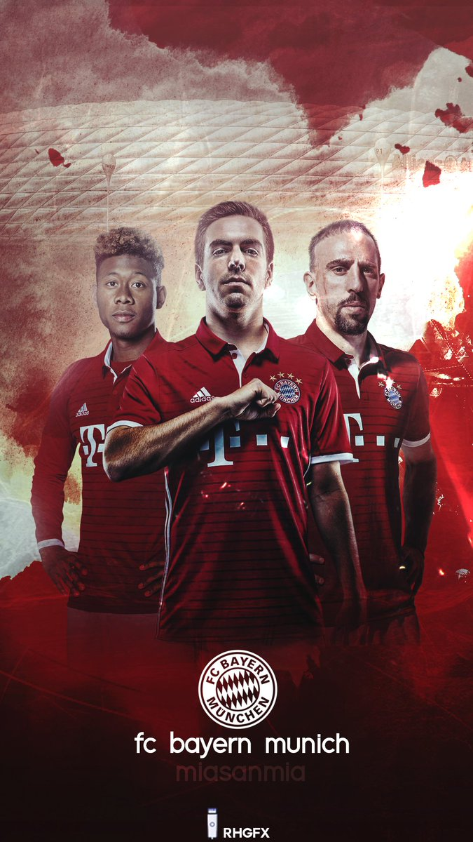 Excellent R H D E S I G N On Twitter Fc Bayern Munich Lockscreen Wallpaper Miasanmia Rts Please With Mia San
