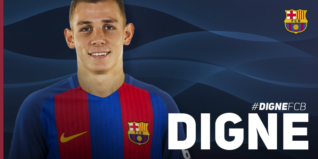 Thumbnail for Welcome to FC Barcelona, Lucas Digne